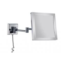 Espejo de aumento con led cuadrado