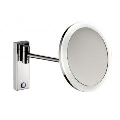 Espejos cosmético redondo con sensor luz led