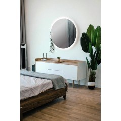 Espejo baño luz led redondo baño Dian