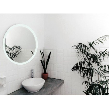 Espejo baño luz led  redondo baño