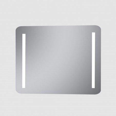 Espejo baño luz con 2 tiras led para el baño