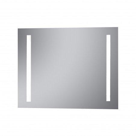 Espejo con luz integrada para baño led cuadrado Sama