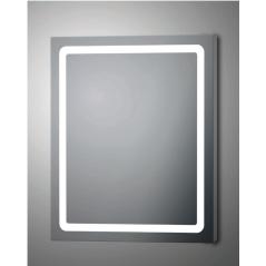 Espejo baño luz led cuadrado Innes