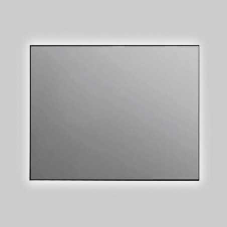 Espejo baño luz led rectangular retroiluminado Aluminium