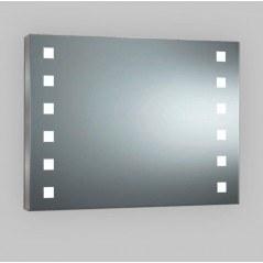 Espejo con luces led integradas para cuadrado Hollywood